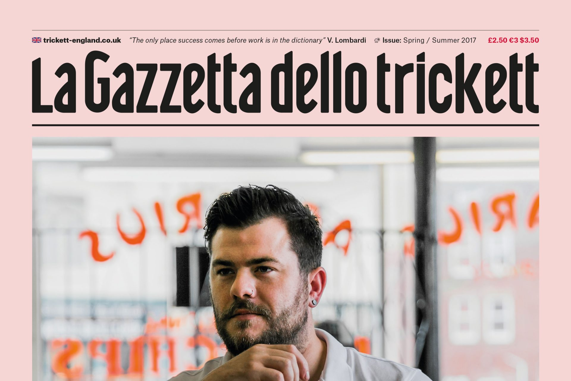 La Gazetta Dello Trickett SS17