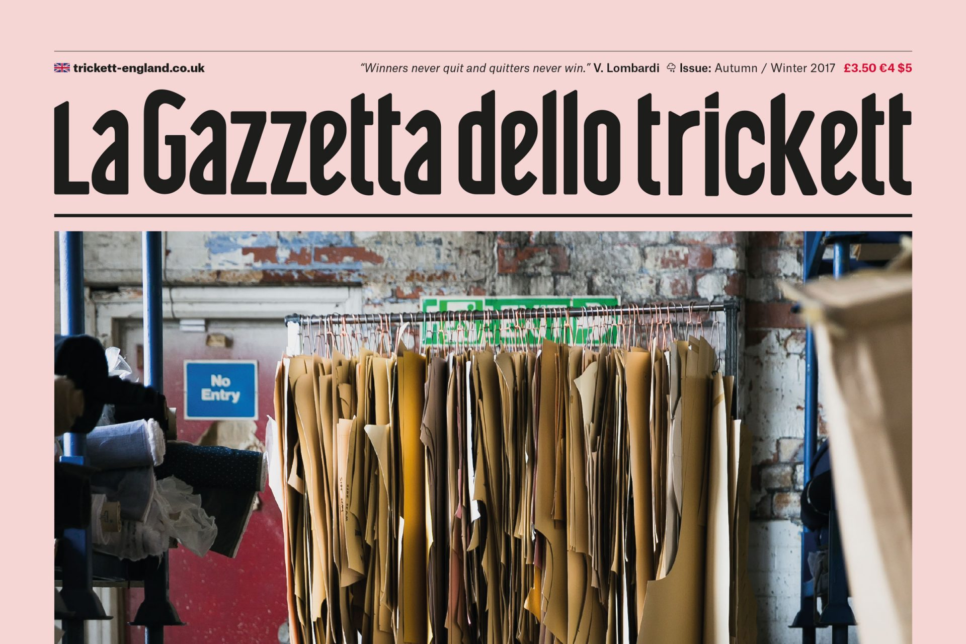 La Gazetta Dello Trickett AW17