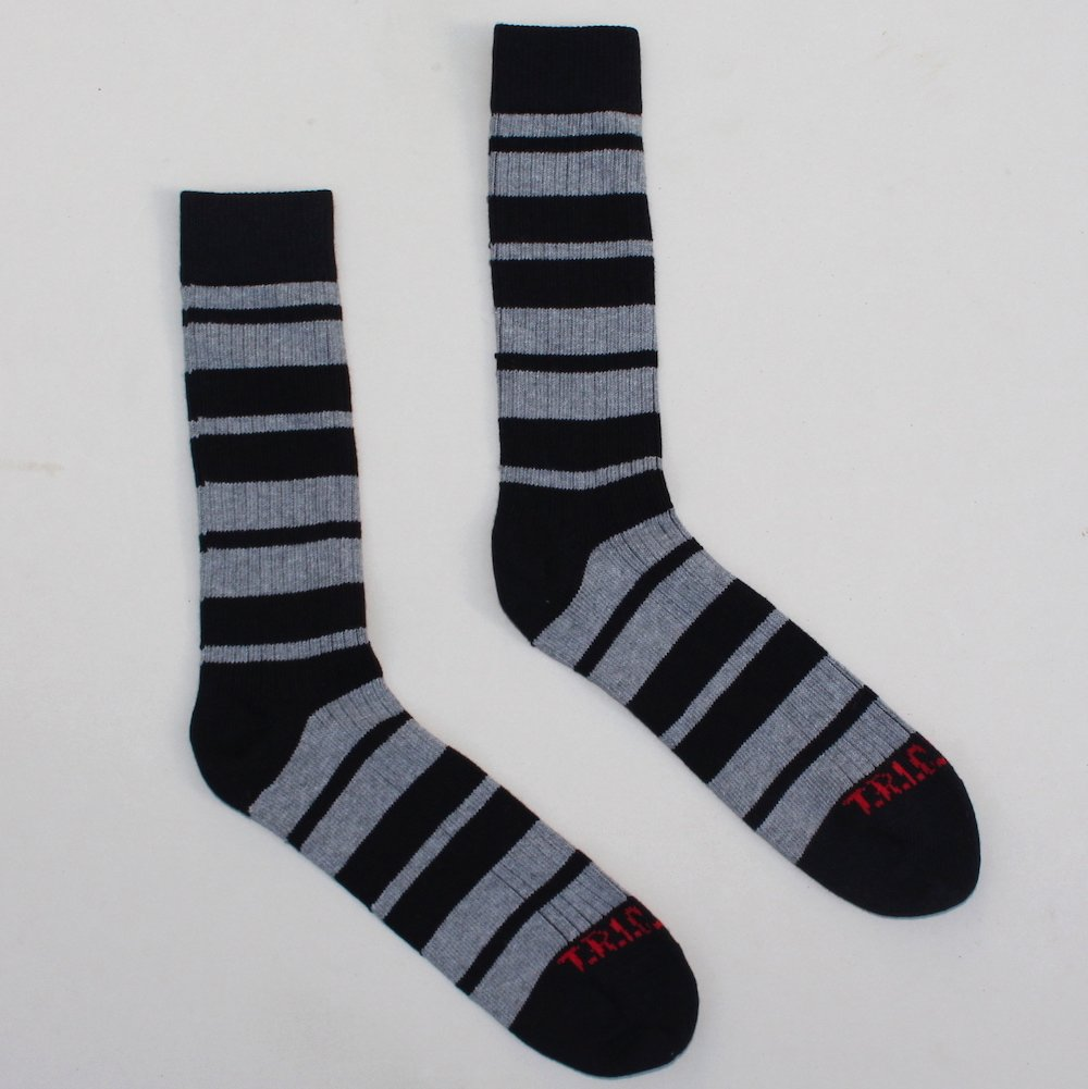 Socks With Attitude – Black/Grey