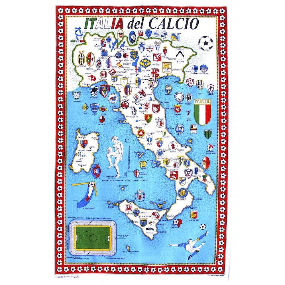 Calcio del Italia Tea Towel