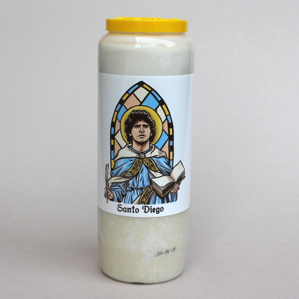 Santo Diego Candles