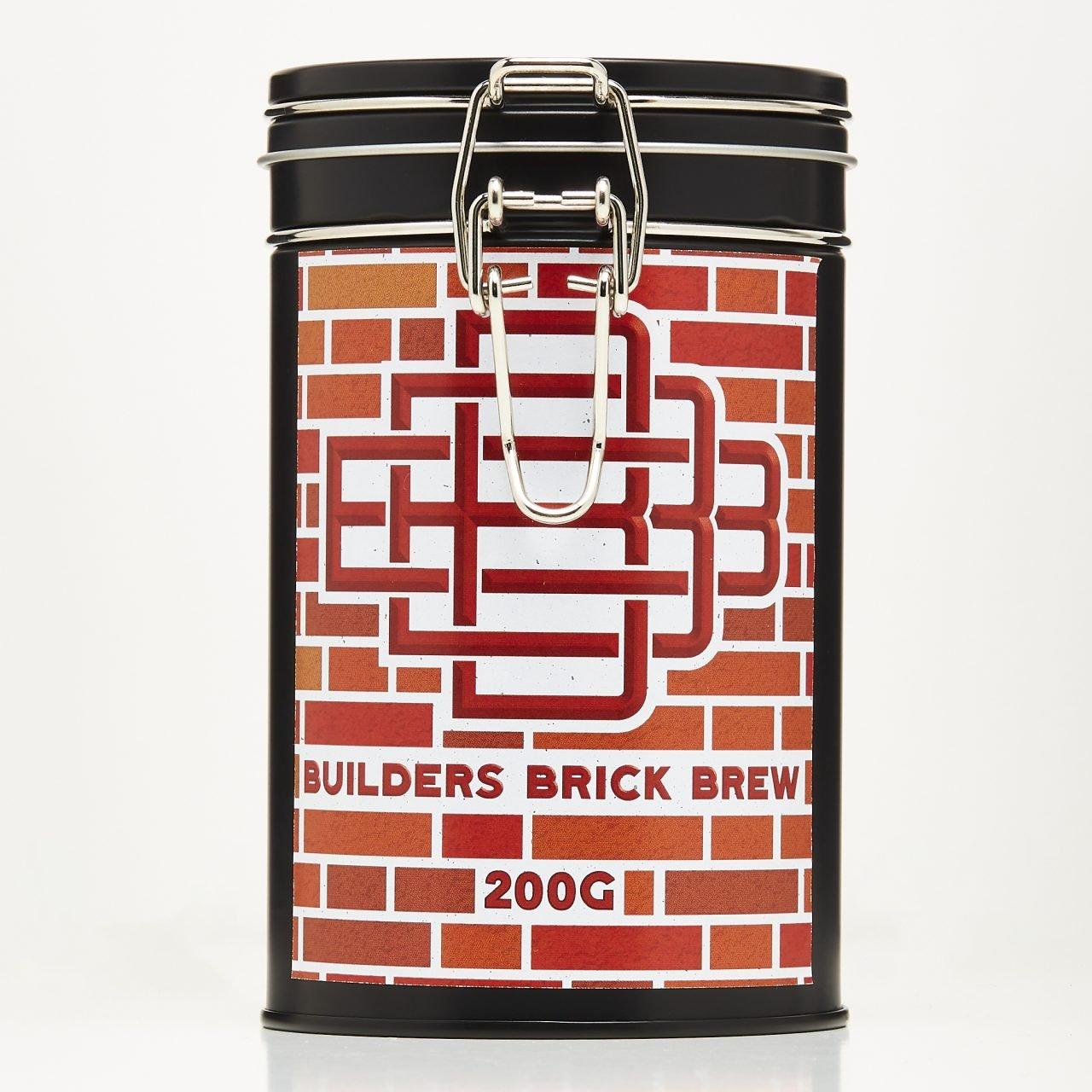 Builders Brick Brew – 200g Tin